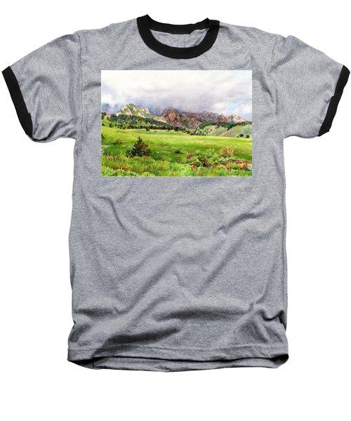Flatirons Vista Baseball T-Shirt