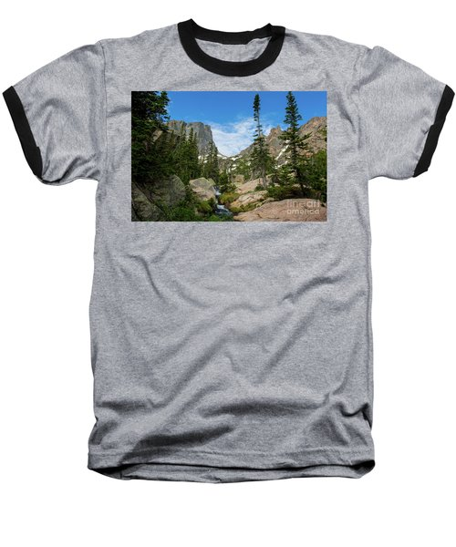 Flattop Mountain Baseball T-Shirt