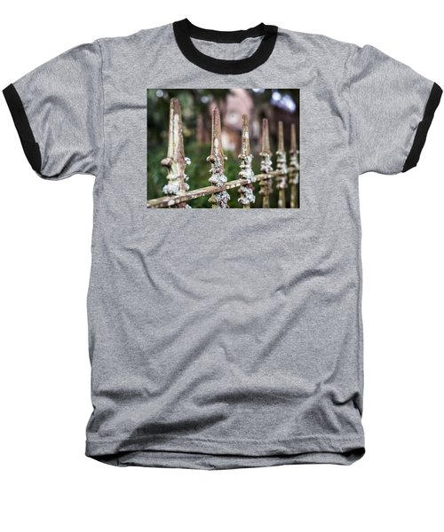 Baseball T-Shirt featuring the photograph Fleur De Lis Finial by Andy Crawford