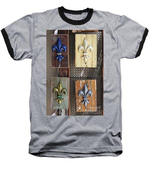Fleurs-de-lis Baseball T-Shirt