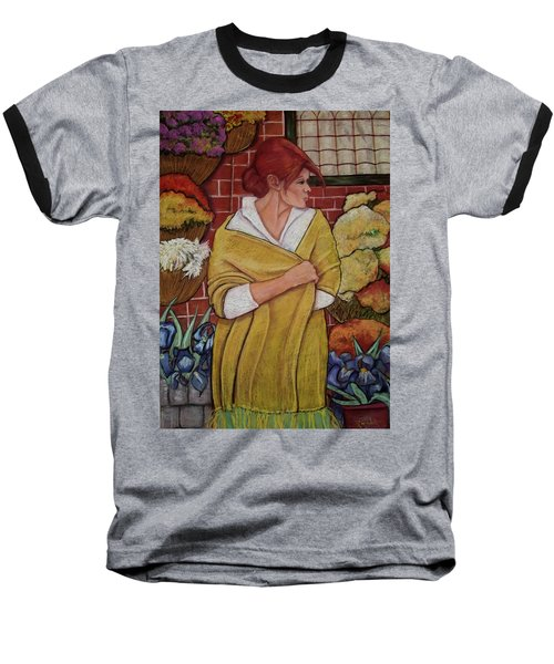 Fleurs Du Provance Baseball T-Shirt