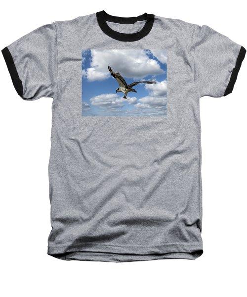 Flight Among The Clouds Baseball T-Shirt