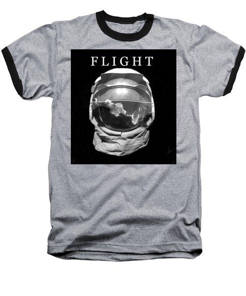 Baseball T-Shirt featuring the photograph Flight by David Lee Thompson