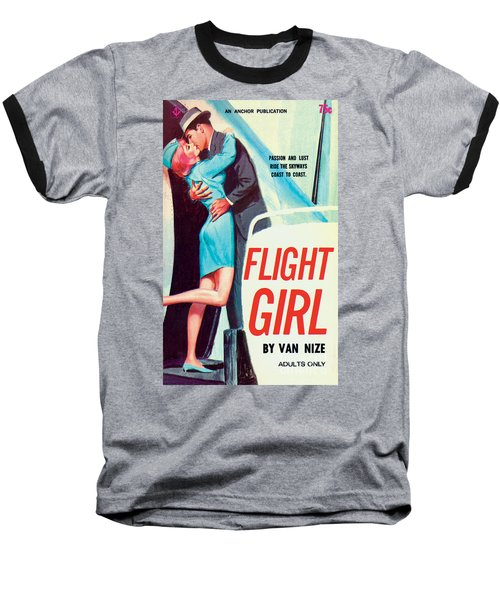Flight Girl Baseball T-Shirt