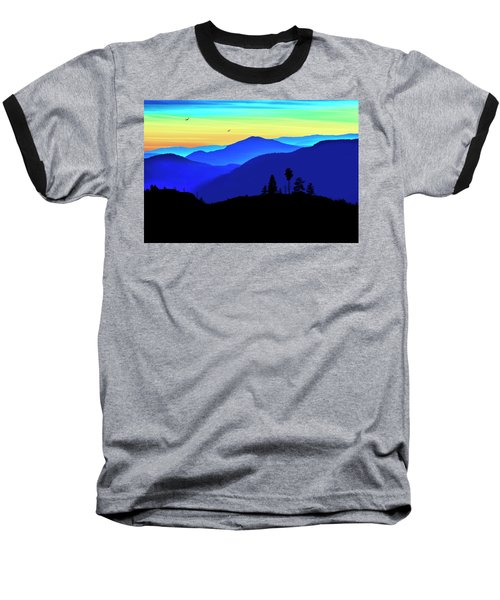 Baseball T-Shirt featuring the photograph Flight Of Fancy by John Poon