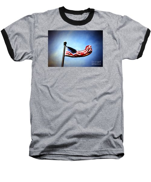 Flight Of Freedom Baseball T-Shirt