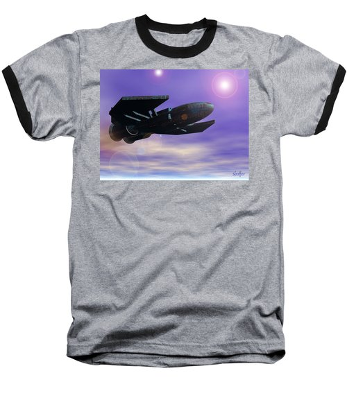 Baseball T-Shirt featuring the digital art Flight Of The 501st Phoenix by Curtiss Shaffer