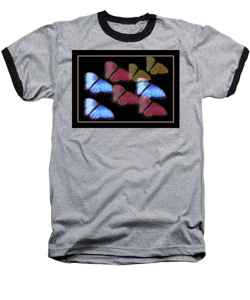 Flight Of The Butterflies Baseball T-Shirt by Rosalie Scanlon
