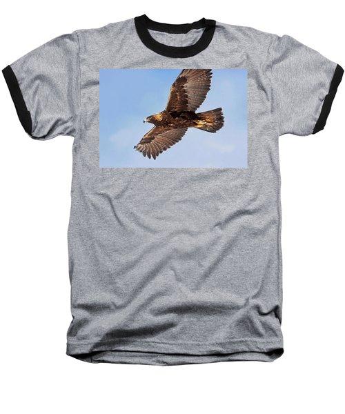 Flight Of The Golden Eagle Baseball T-Shirt