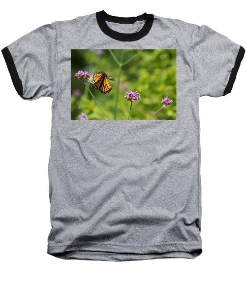 Flight Of The Monarch 2 Baseball T-Shirt