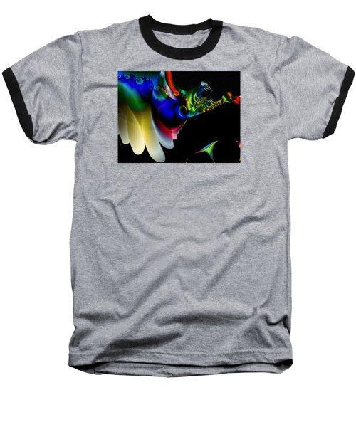 Baseball T-Shirt featuring the digital art Flight Of The Phoenix by Mario Carini