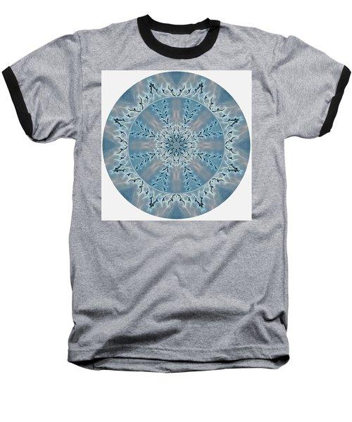 Flight Of The Tundra Swan Mandala Baseball T-Shirt