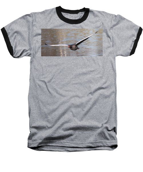 Baseball T-Shirt featuring the photograph Flight by Sergey Simanovsky