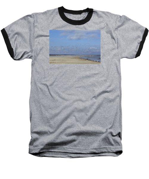 Flight Baseball T-Shirt by Tammy Schneider