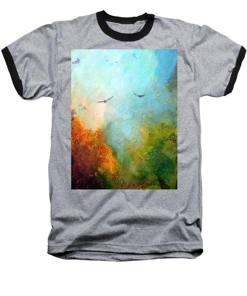 Flights Of Fancy Baseball T-Shirt by Dina Dargo