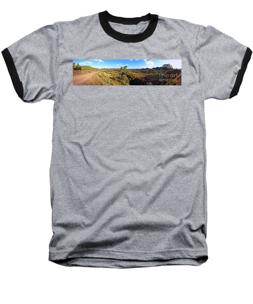 Flinders Ranges Baseball T-Shirt by Bill Robinson