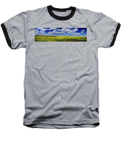 Flint Hills Panorama 1 Baseball T-Shirt