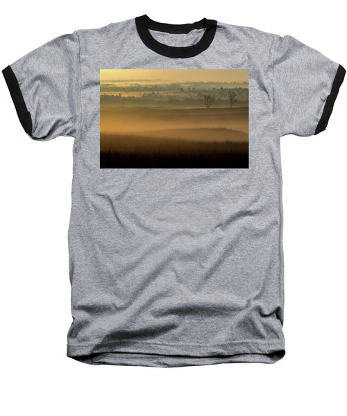 Flint Hills Sunrise Baseball T-Shirt
