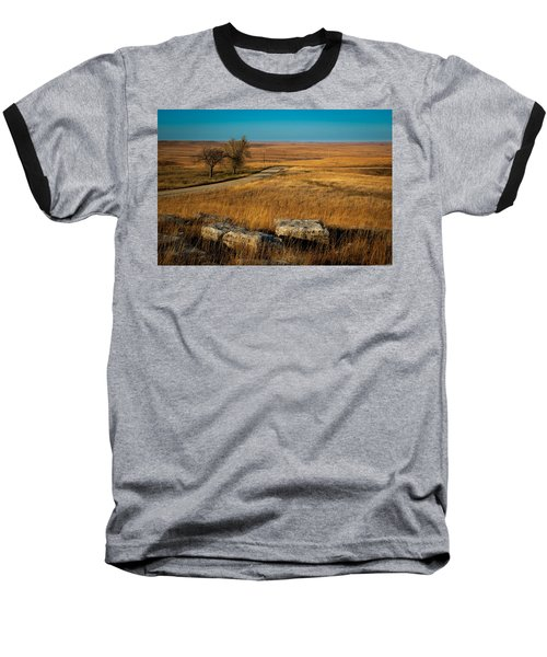 Flint Hills Two Trees Baseball T-Shirt