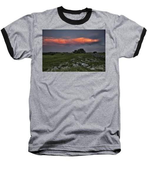 Flinthills Sunset Baseball T-Shirt