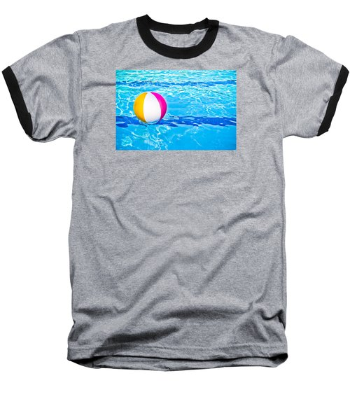 Float Baseball T-Shirt by Colleen Kammerer