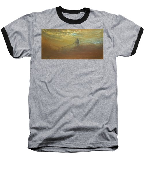 Float On Baseball T-Shirt by Jane See