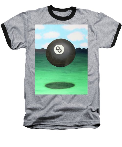 Baseball T-Shirt featuring the painting Floating 8 by Thomas Blood