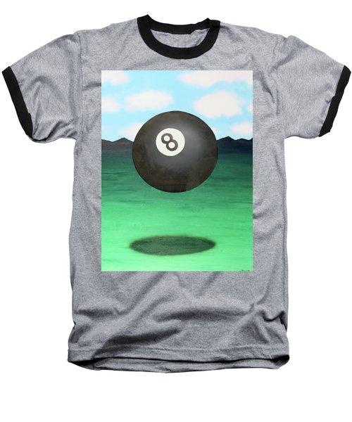 Floating 8 Baseball T-Shirt by Thomas Blood