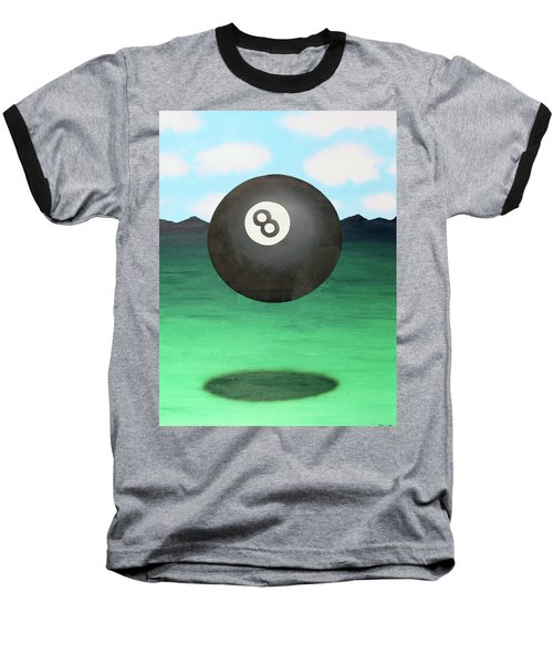 Floating 8 Baseball T-Shirt