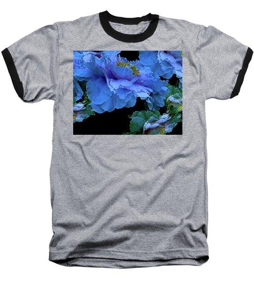 Floating Bouquet 14 Baseball T-Shirt by Lynda Lehmann