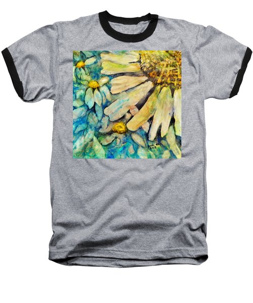 Floating Flowers Baseball T-Shirt
