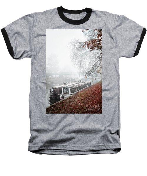 Floating Homes Of  River Cam Baseball T-Shirt