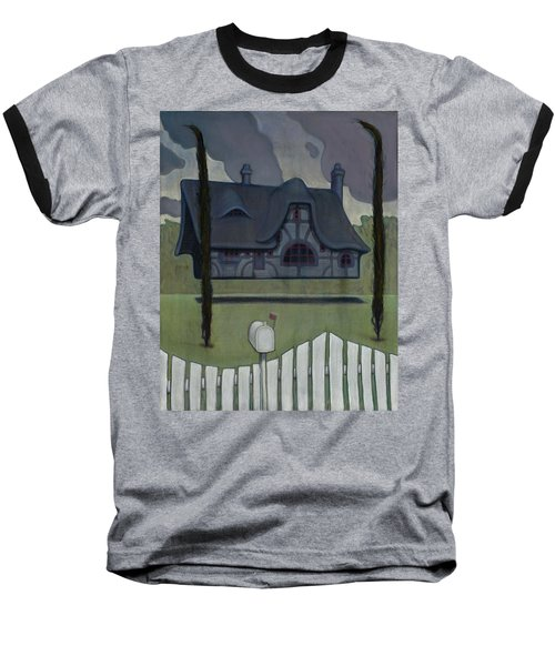 Floating House Baseball T-Shirt
