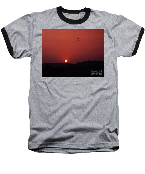 Baseball T-Shirt featuring the photograph Floating In Space by Thomas Bomstad