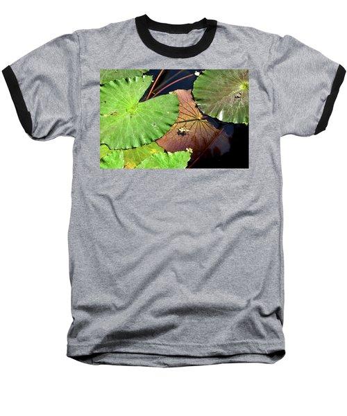 Floating Lily Pads Baseball T-Shirt