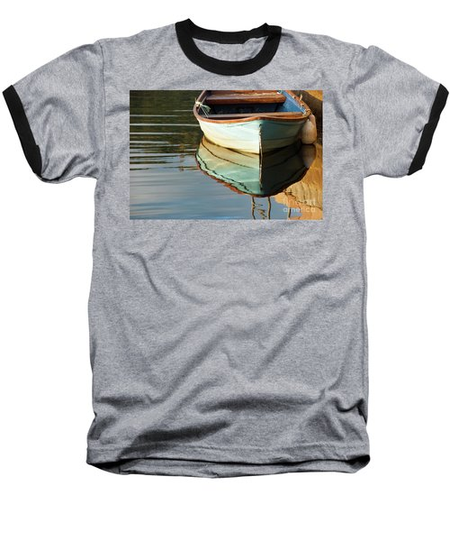 Baseball T-Shirt featuring the photograph Floating On Blue 44 by Wendy Wilton