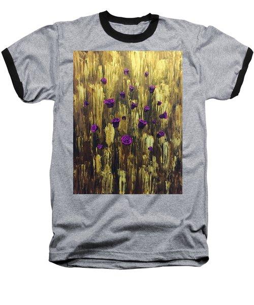 Floating Royal Roses 1 Baseball T-Shirt