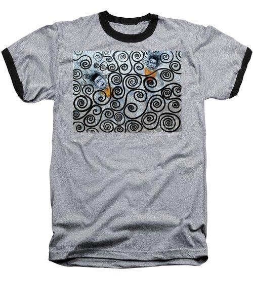 Floating Hearts Nineteen Baseball T-Shirt