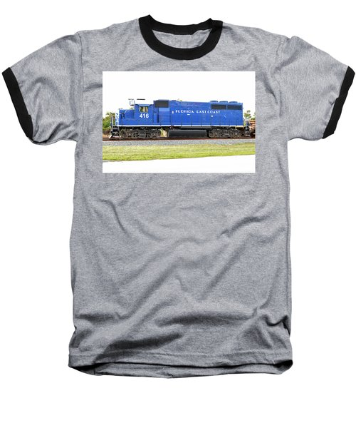 Floirda East Coast Engine Baseball T-Shirt