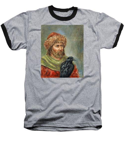Floki Vilgerdarson Baseball T-Shirt by Arturas Slapsys