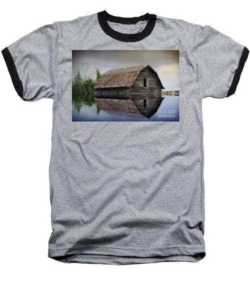 Flooded Barn Baseball T-Shirt