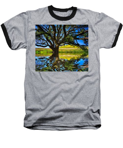 Flooded Oak Baseball T-Shirt