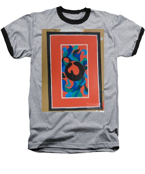Floor Cloth E - Sold Baseball T-Shirt