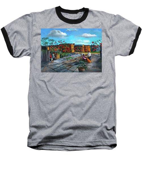 Flor De Noche Buena Baseball T-Shirt