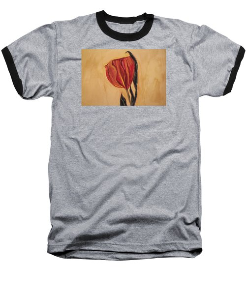 Flor Del Alma Baseball T-Shirt by The Art Of Marilyn Ridoutt-Greene