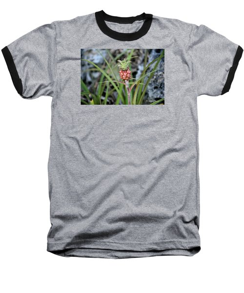 Flor Pina Baseball T-Shirt by Edgar Torres