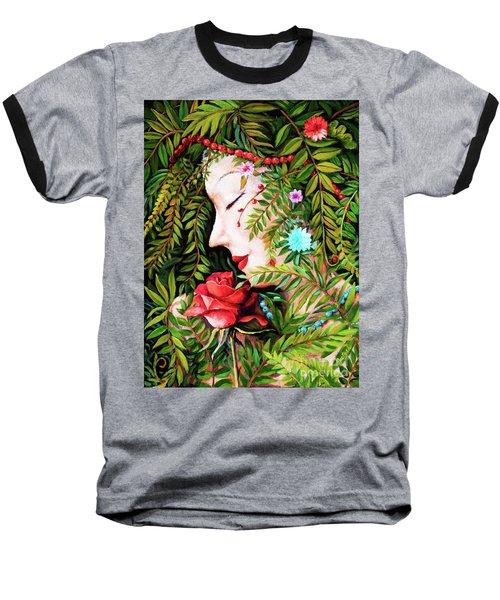 Flora-da-vita Baseball T-Shirt