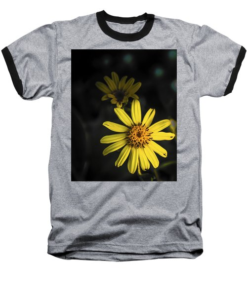 Flora In Yellow Baseball T-Shirt