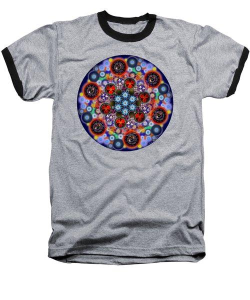 Flora Viscera Mandala Baseball T-Shirt