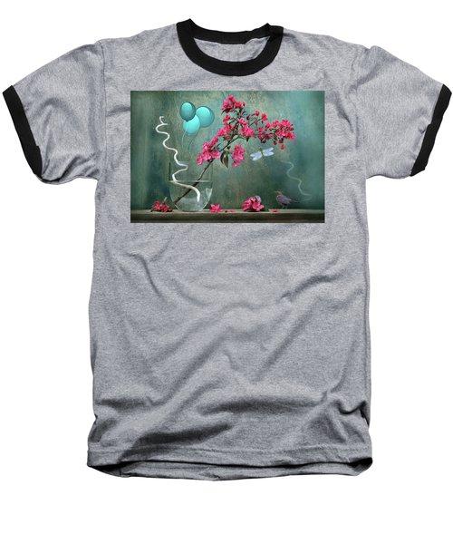 Floral 2 Baseball T-Shirt